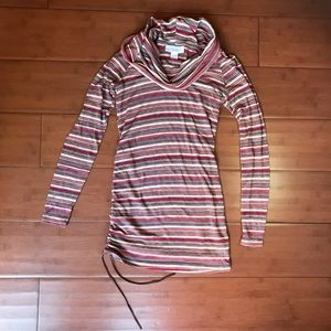 Jessica Simpson Long Sleeve Maternity Shirt Small